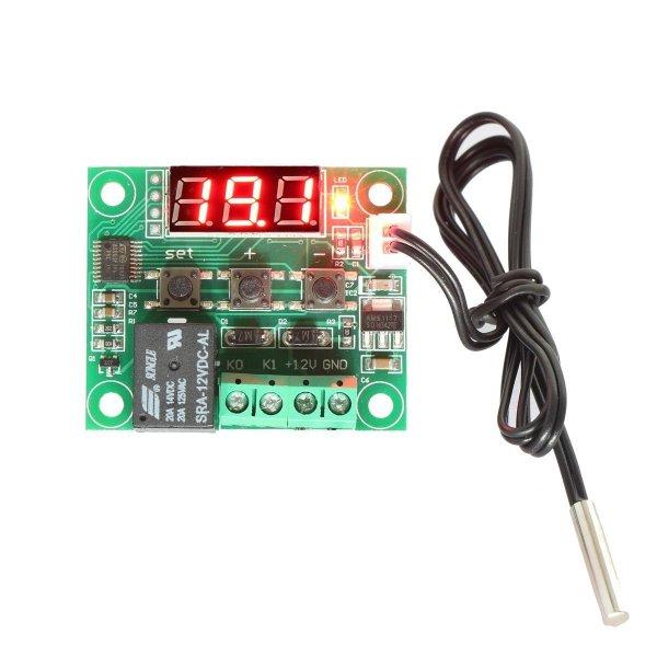 XH-W1209 12V DC Digitale Cooling Heating Termostato Temp Control -50-110 celsius degree Temperatura Controller 10A Relè