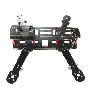 ZMR250 H250 Fiberglass Frame Kit 250mm Mini Quadcopter - BLACK