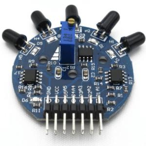 5-Channel Flame Sensore Modulo