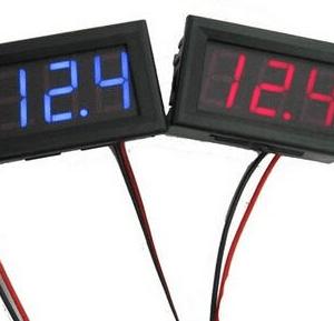 Red 0.56 inch LED Digitale Voltmetro DC4.5V-30.0V
