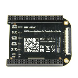 Embest BB View LCD Expansion Board for BeagleBone Family - Black
