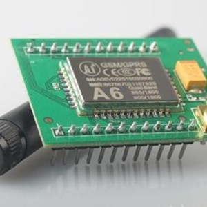 A6 GPRS GSM Modulo Adattatore Board Plate Quad-band 850 900 1800 1900MHZ + Antenna