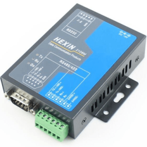 HEXIN 2108M RS232 to RS485 Convertitore with RJ45 port 24V