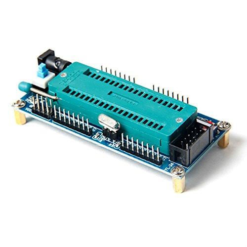 Scheda di sviluppo per ATmega16, 32, 8535 programmazione chip con zoccolo ZIF