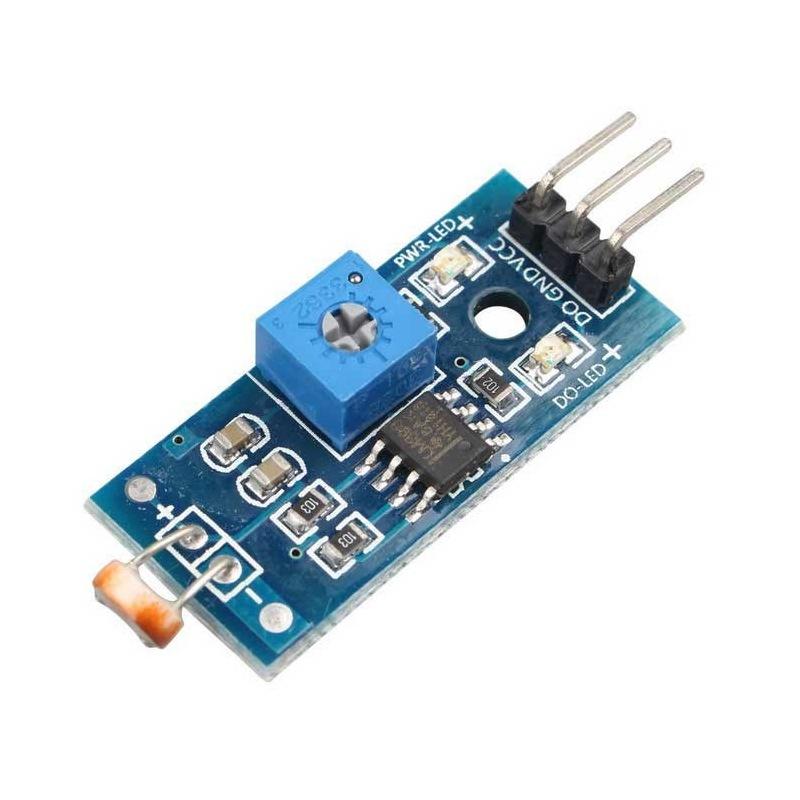 AZDelivery 5 x Modulo fotoresistenza fotoresistenza fotosensore luce modulo LDR5528 per Arduino con eBook
