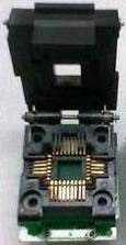 Blocco adattatore presa da PLCC32 a DIP32IC, conchiglia per sede di conversione