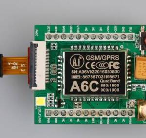 A6C GSM GPRS Modulo Quad Band SMS Voice 850MHz 900MHz 1800MHz 1900MHZ con telecamera per antenna per Arduino