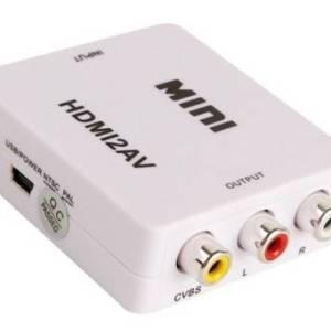 Da 1080P HDMI a Rca Da HDMI a AV Converter
