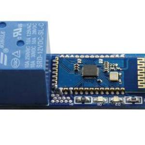 modulo relè 12V / 10A a canale singolo commutatore di telecomando bluetooth mobile iot modulo relè Bluetooth bluetooth