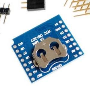 RTC DS1307 Schermata DataLog orologio in tempo reale per Micro SD WeMos D1 Mini + RTC DS1307 Orologio con pin-header impostato p