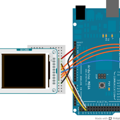 Arduino Lcd Screen Wiring Diagram Brain Labeled Enchanted Learning Tft Great Installation Of Tfttoboards Rh Cc I2c