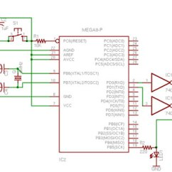 Rf Tx And Rx Circuit Diagram A Labelled Of Fish Arduino - Standaloneassembly