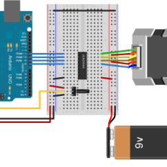 4 Wire Dc Motor Connection Diagram Leviton 3 Way Switch Wiring Arduino Stepperspeedcontrol For More Circuit Examples See The Fritzing Project Page Unipolar Knob Schematic