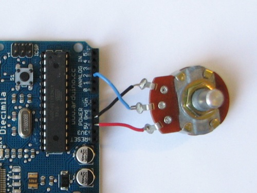 Potentiometer Wiring Arduino Lighting Multiple Leds With Sensors