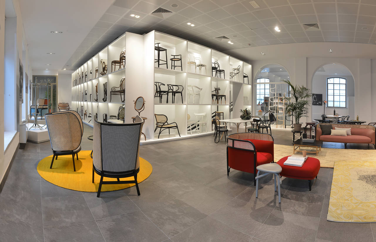 Nuova sede di Gebrder Thonet Vienna a Torino  Area