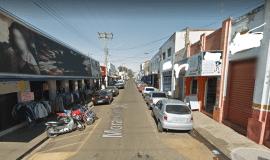 Rua Moraes Gordo (rua comercial em São Manuel)