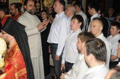Фоторепортаж из Свято-Троицкого Ионинского монастыря о праздновании Светлого праздника Пасхи 27