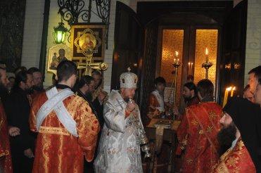 Фоторепортаж из Свято-Троицкого Ионинского монастыря о праздновании Светлого праздника Пасхи 30