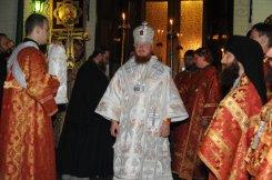 Фоторепортаж из Свято-Троицкого Ионинского монастыря о праздновании Светлого праздника Пасхи 34