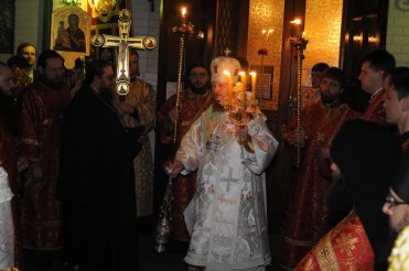 Фоторепортаж из Свято-Троицкого Ионинского монастыря о праздновании Светлого праздника Пасхи 41