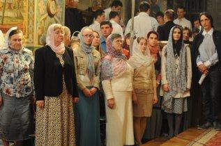 Фоторепортаж из Свято-Троицкого Ионинского монастыря о праздновании Светлого праздника Пасхи 58