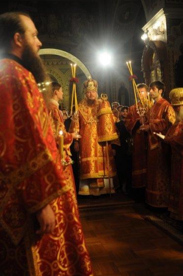 Фоторепортаж из Свято-Троицкого Ионинского монастыря о праздновании Светлого праздника Пасхи 81