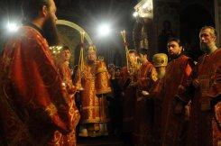 Фоторепортаж из Свято-Троицкого Ионинского монастыря о праздновании Светлого праздника Пасхи 83