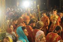 Фоторепортаж из Свято-Троицкого Ионинского монастыря о праздновании Светлого праздника Пасхи 89