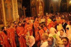 Фоторепортаж из Свято-Троицкого Ионинского монастыря о праздновании Светлого праздника Пасхи 96