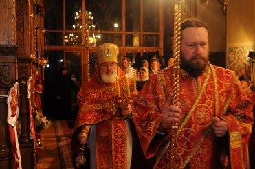 Фоторепортаж из Свято-Троицкого Ионинского монастыря о праздновании Светлого праздника Пасхи 105