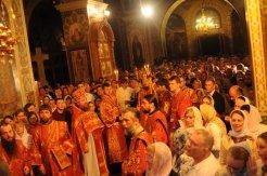 Фоторепортаж из Свято-Троицкого Ионинского монастыря о праздновании Светлого праздника Пасхи 107