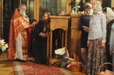 Фоторепортаж из Свято-Троицкого Ионинского монастыря о праздновании Светлого праздника Пасхи 138
