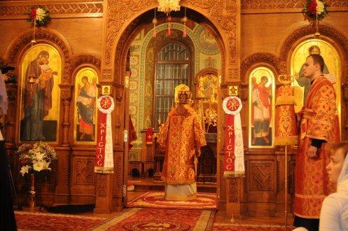 Фоторепортаж из Свято-Троицкого Ионинского монастыря о праздновании Светлого праздника Пасхи 168
