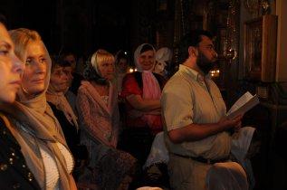 Фоторепортаж из Свято-Троицкого Ионинского монастыря о праздновании Светлого праздника Пасхи 176