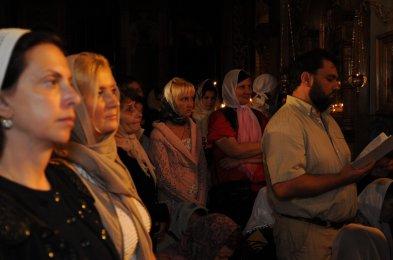 Фоторепортаж из Свято-Троицкого Ионинского монастыря о праздновании Светлого праздника Пасхи 177