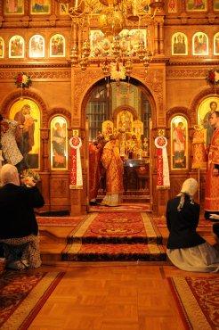 Фоторепортаж из Свято-Троицкого Ионинского монастыря о праздновании Светлого праздника Пасхи 185