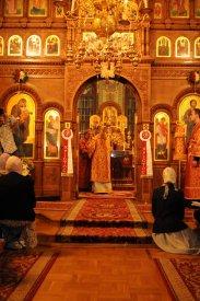 Фоторепортаж из Свято-Троицкого Ионинского монастыря о праздновании Светлого праздника Пасхи 187