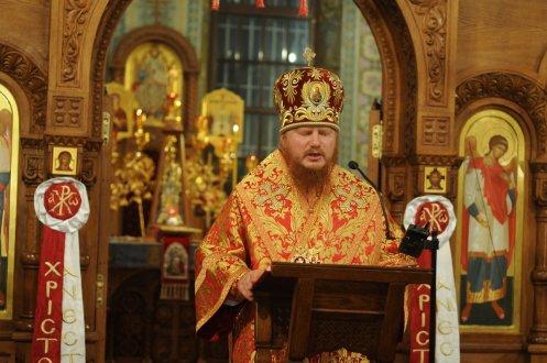 Фоторепортаж из Свято-Троицкого Ионинского монастыря о праздновании Светлого праздника Пасхи 2
