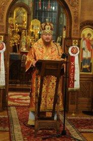 Фоторепортаж из Свято-Троицкого Ионинского монастыря о праздновании Светлого праздника Пасхи 206