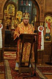 Фоторепортаж из Свято-Троицкого Ионинского монастыря о праздновании Светлого праздника Пасхи 207