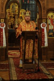Фоторепортаж из Свято-Троицкого Ионинского монастыря о праздновании Светлого праздника Пасхи 209