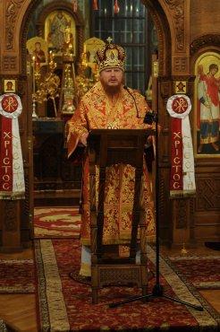 Фоторепортаж из Свято-Троицкого Ионинского монастыря о праздновании Светлого праздника Пасхи 217