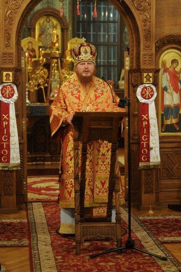 Фоторепортаж из Свято-Троицкого Ионинского монастыря о праздновании Светлого праздника Пасхи 224