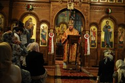 Фоторепортаж из Свято-Троицкого Ионинского монастыря о праздновании Светлого праздника Пасхи 234