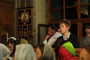 Фоторепортаж из Свято-Троицкого Ионинского монастыря о праздновании Светлого праздника Пасхи 245