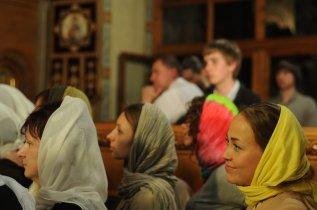Фоторепортаж из Свято-Троицкого Ионинского монастыря о праздновании Светлого праздника Пасхи 247