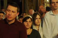 Фоторепортаж из Свято-Троицкого Ионинского монастыря о праздновании Светлого праздника Пасхи 250