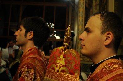 Фоторепортаж из Свято-Троицкого Ионинского монастыря о праздновании Светлого праздника Пасхи 273