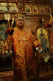 Фоторепортаж из Свято-Троицкого Ионинского монастыря о праздновании Светлого праздника Пасхи 294