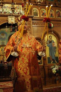 Фоторепортаж из Свято-Троицкого Ионинского монастыря о праздновании Светлого праздника Пасхи 298